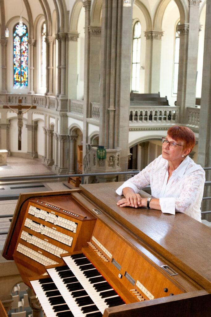 Bild von Gabriele Degenhardt aus Stuttgart, Orgel