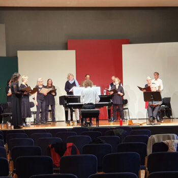 Zigeunerlieder, Oktober 2020 in der Liederhalle in Stuttgart. Motettenchor Stuttgart unter Felix Romankiewizc.