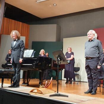 Ulrich Herkenhoff, Panflöte und der Motettenchor Stuttgart, Oktober 2020
