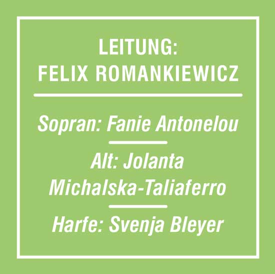 Bild mit Schrift zum Konzert des Motettenchors Stuttgart