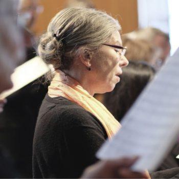 Gottesdienst zu Karfreitag: Musikalische Gestaltung Motettenchor Stuttgart in der Kreuzkirche Stuttgart-Heslach