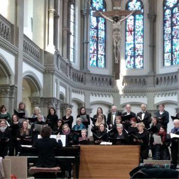 Via Crucis - Ein musikalischer Kreuzweg zur Passionszeit: Auftritt des Chores März 2018