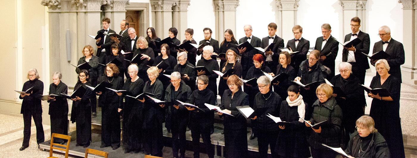 Bild vom Motettenchor Stuttgart, Copyright Marlyse Kernwein-Janzer