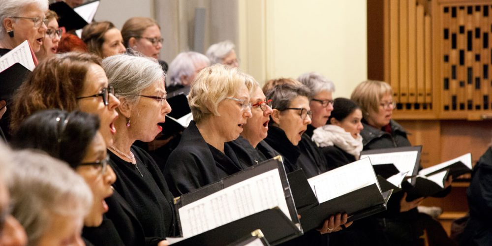 Bild aus dem Weihnachtskonzert 2019 des Motettenchors Stuttgart