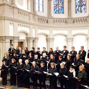 Bild des Motettenchor Stuttgart 2019 in der Matthäuskirche Stuttgart
